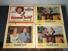 QUINCANNON, FRONTIER SCOUT (1956) TONY MARTIN WESTER TC & 3 LOBBY CARDS!