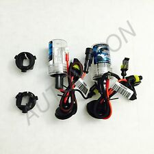 2x H7 8000k HID Xenon Bulb Adapters Holders For Hyundai Genesis Coupe & Veloster