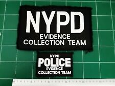 Set of patchs NYPD Police