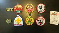 VINTAGE Boy Scout Cub Scout Patches Lot 1960's