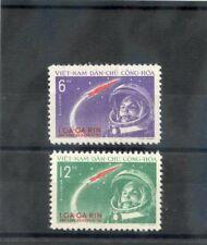 NORTH VIETNAM Sc 160-1(MI 166-7)(*)VF NGAI 1961 YURI GAGARIN SET $50