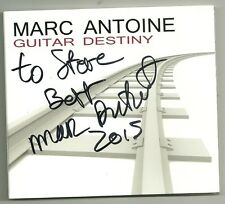 """SIGNED by Marc Antoine! """"GUITAR DESTINY"""" Smooth Jazz CD 2012 AUTOGRAPHED Rare"""