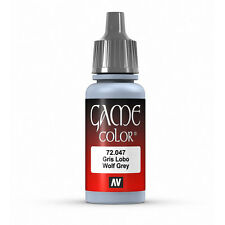 Vallejo Game Color: Wolf Grey - VAL72047 Acrylic Model Paint 17mm Bottle