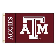 Texas A&M Aggies Ncaa 3X5 Flag Banner Flagpole Flag Free Shipping