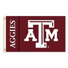 New listing Texas A&M Aggies Ncaa 3X5 Flag Banner Flagpole Flag Free Shipping