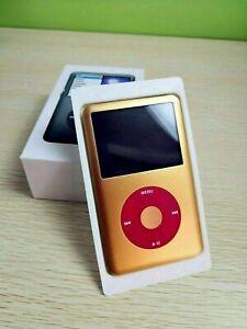 1TB iPod Classic 7th Generation Gold/Red - Thin model - Custom Modified 1TB