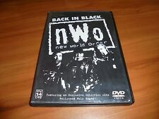 WWF - NWO: Back In Black (DVD, 2002) Hulk Hogan Kevin Nash Used  RARE
