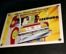 Seeburg jukebox sign .... Wurlitzer Rock-ola AMI Packard