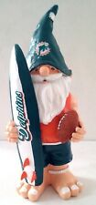 VINTAGE~NFL Licensed Team Gnome Miami Dolphins  SURFBOARD GNOME by FOREVER