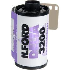 10 x Ilford Delta 3200 Noir & Blanc Expiré 35 mm appareil photo FILM, ISO 3200