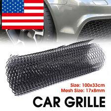 "39""x13"" Universal Aluminium Grille Mesh Vent Race Car Tuning Bumper Net Grill US"