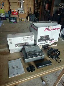 Autoradio vintage PIONEER  KEH-P4800R, MCD4800RDS. Cassette + chargeur 6 CD