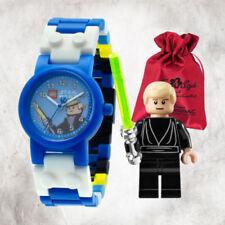 Relojes de pulsera fecha Lego de plástico