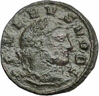 SEVERUS II Roman Caesar 305AD Rare Authentic Ancient Roman Coin GENIUS i54757