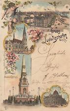 Post Lithographien aus Deutschland mit dem Thema Eisenbahn & Bahnhof