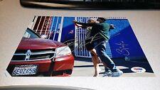 BINDI IRWIN DEREK HOUGH DWTS PSA DNA SIGNED AUTOGRAPHED 8X10 DANCING W/ THE STAR