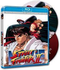 STREET FIGHTER II EDICION COLECCIONISTA BLU RAY + DVD NUEVO ( SIN ABRIR )
