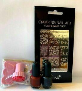 Konad Nail Art Halloween Stamping Set