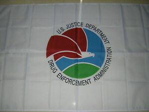 Flag of United States US USA The Drug Enforcement Administration DEA Ensign 3X5