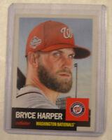 Topps Living Set Card #13 Bryce Harper Washington Nationals