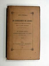Maynard - Enseignement des Jésuites à l'époque de leur suppression CLÉMENT XIV
