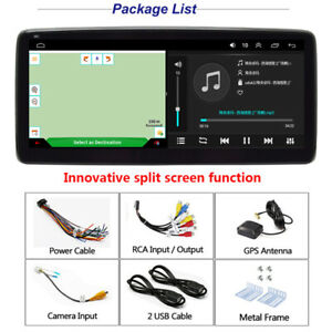 """10.25"""" Car Radio 1 DIN Android9.1 GPS Stereo Navigation MP5 Player Quad Core Kit"""