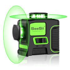 8 Lines Green 360 Horizontal & Vertical Laser Level Outdoor Measuring Self-level