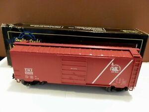 Weaver Ultra Line 3-Rail 40' Box Car New Jersey Central CNJ 20505