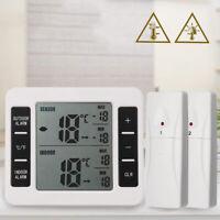 1*LCD Digital Fridge Alarm Thermometer Temp Tester Sensor Refrigerator Freezer