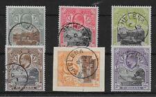 ST.HELENA SG55/60 1903 DEFINITIVE SET USED