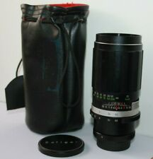 Pentax M42 Mount Soligor 200mm f4.5 Telephoto Manual Prime Lens.