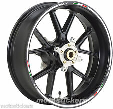 TRIUMPH Daytona 675 - Adesivi Cerchi – Kit ruote modello Sport tricolore