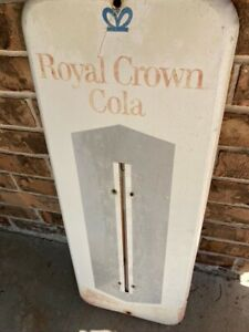 Genuine collectible Royal Crown Cola Wall Thermometer