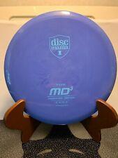 Discmania Originals S-line Md3 Midrange Driver Swirly Purple 175g w/ blue stamp