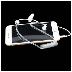 3.5mm Anti Radiation Air Tube Earpiece Headset For Huawei Ascend P7 P8 P9 P10
