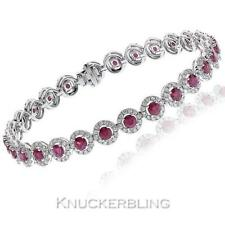Natural Not Enhanced White Gold Ruby Fine Jewellery