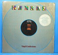 KANSAS VINYL CONFESSIONS LP 1982 ORIGINAL SHRINK GREAT CONDITION! VG+/VG+!!