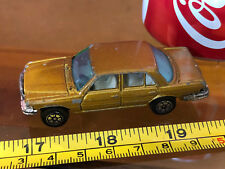 Yatming 450 Sel Mercedes Benz Rare Dark Gold Colour Car Diecast Toy Car