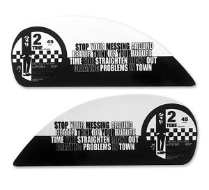 Side Panel Stickers fits Vespa GTS Scooter - THE SPECIALS, Ska Message to Rudy