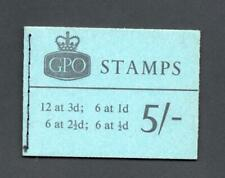 5/- PHOSPHOR BOOKLET JANUARY 1964 SG H66p Cat £120