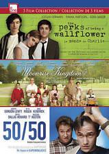 PERKS OF BEING A WALLFLOWER/MOONRISE KINGDOM/50/50 (NEW DVD)