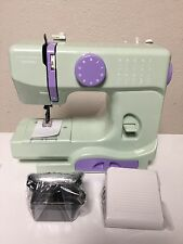 New Janome Mystical Mint New Home Portable Sewing Machine Stitch Needle Compact