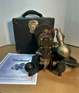 Vintage International Cutawl K9A Sign Maker Scroll Saw With Manual & Case