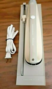 Vintage Hamilton Beach Switchable Electric Knife w/ Wall Mount Gray/Ivory