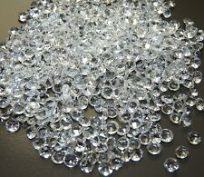 1000 Diamanten Tischdekoration Deko Hochzeit Tischdeko Streudeko Acryl 4,5mm
