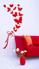 00909 Wall Stickers Sticker Adesivi Murali Bouquet di farfalle 46x100cm