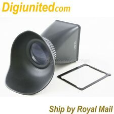"3"" LCD 4:3 Screen Viewfinder Extender 2.8x for Canon EOS 5D Mark II 7D 500D"