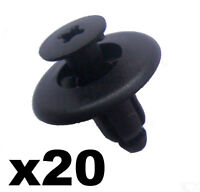 20x Mazda Wheel Arch Lining Clips, 8mm Trim Clips BC1D56146