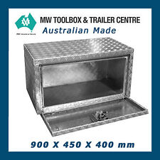 Aluminium Toolbox UTT 900 x 450 x 400 mm Left Underbody Toolboxes for Ute Tray