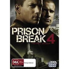 PRISON BREAK : Season 4 : NEW DVD